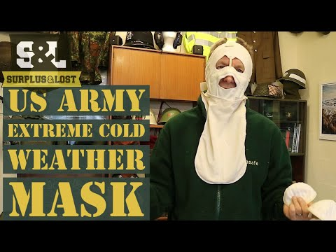 US Army Extreme Cold Weather Face Mask