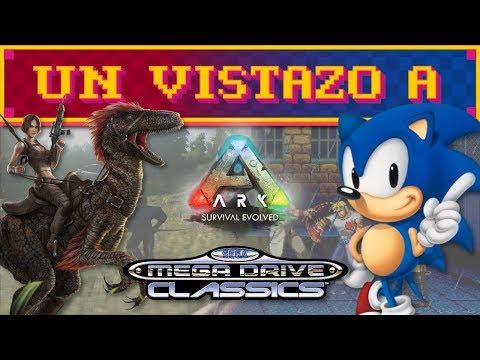 Un vistazo a ARK: Survival Evolved y MegaDrive Classics thumbnail