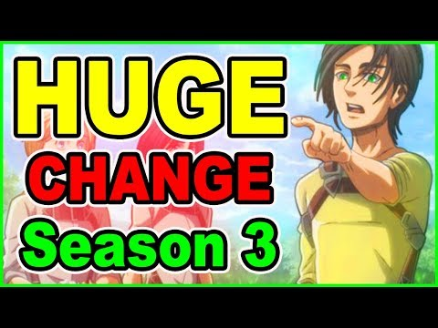 BEAST TITAN ARC OFFICIALLY CONFIRMED! HUGE CHANGES for Attack on Titan Season 3 Episode 1 Review