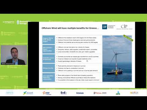 Νικόλαος Αλαγιάλογλου, Διευθυντής Copenhagen Offshore Partners (COP): Offshore αιολικά πάρκα – Η ...