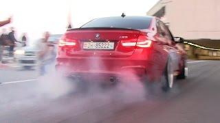 CRAZY LOUD BMWS TERRORIZE MONACO!