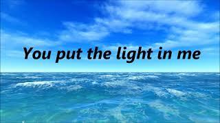 Brandon Heath - The Light in Me (Lyrics)