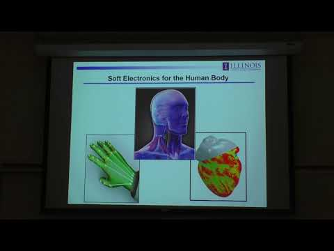 "John Rogers  ""Soft Optoelectronics Technologies"" UMBC Physics Colloquium 2017"