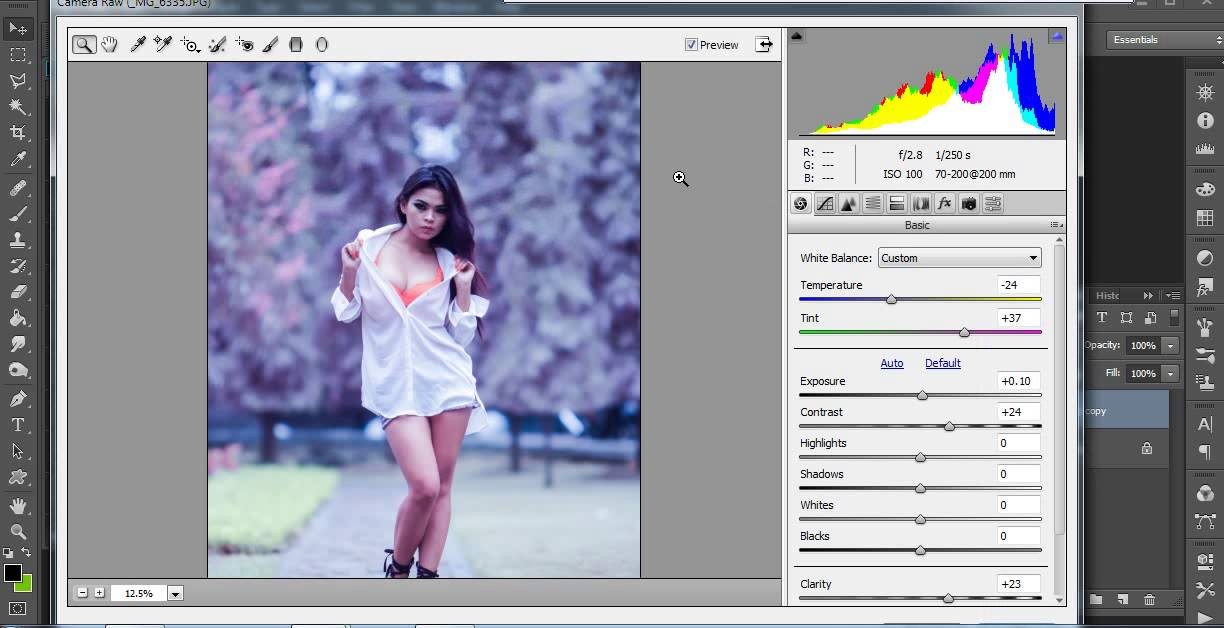 Cara Edit Foto di Photoshop Photo False Color - YouTube
