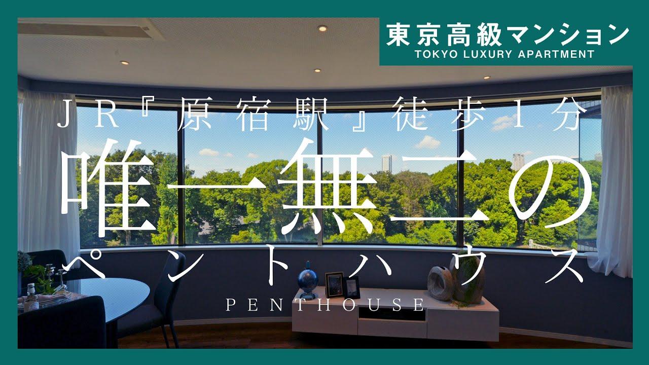 【原宿駅徒歩1分】唯一無二のペントハウス~最上階メゾネット住戸~