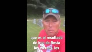 Un padre pone un mensaje importante en video