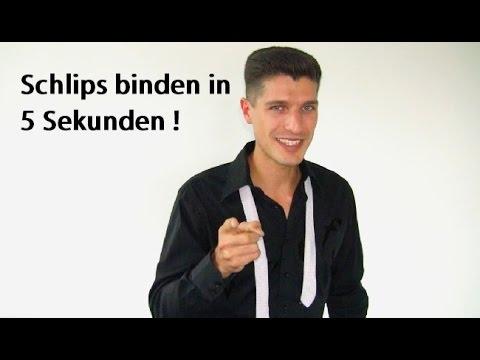 Schlips Binden Trick Schlipsknoten Anleitung Video Youtube