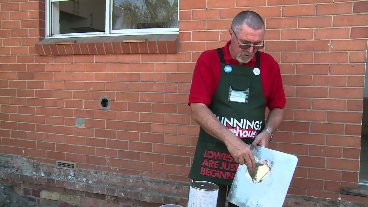 How To Mix Builder's Bog - DIY At Bunnings