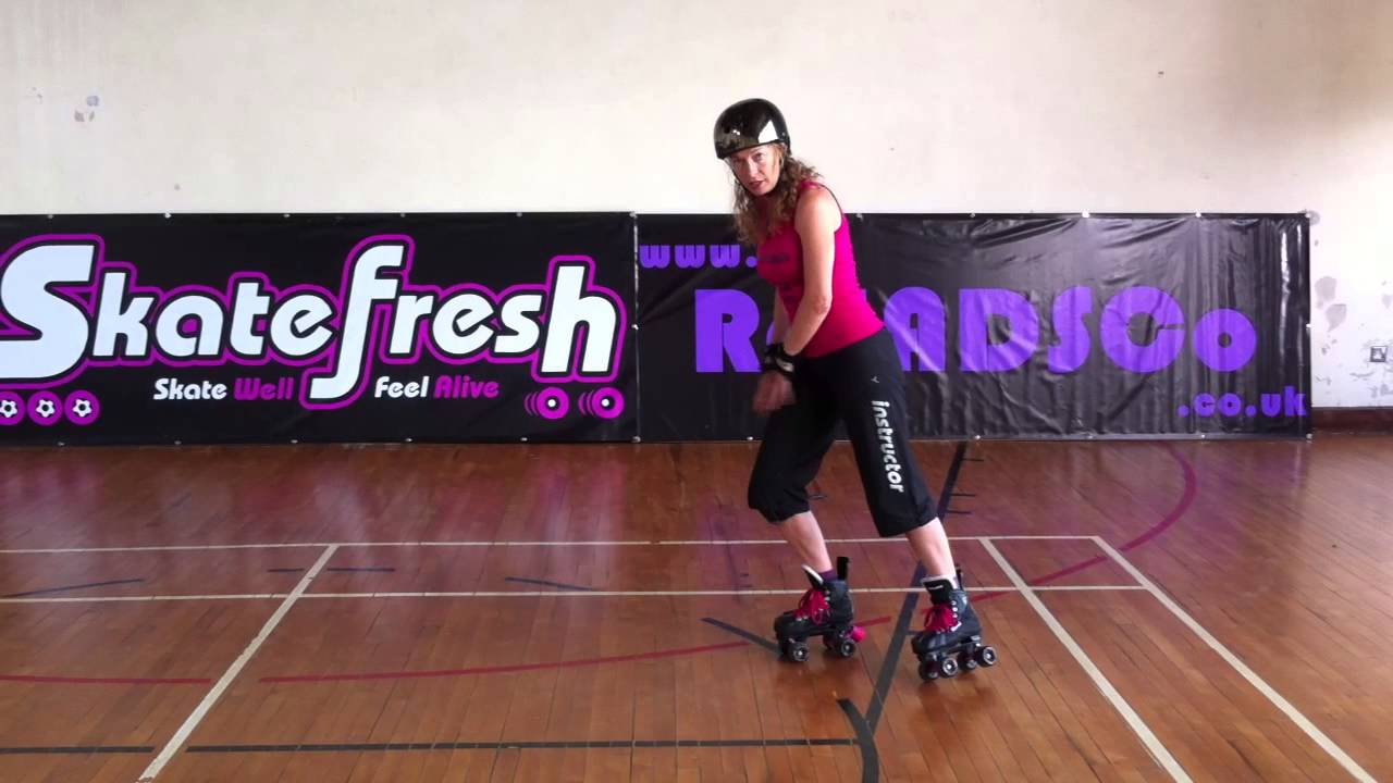 Roller skates videos youtube - How To Do A Lunge Stop Tutorial On Quad Skates For Roller Derby And Roller Skating Youtube