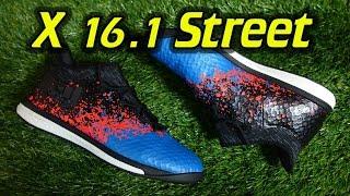 Adidas X 16.1 Street Indoor (Paris Pack) - Review + On Feet