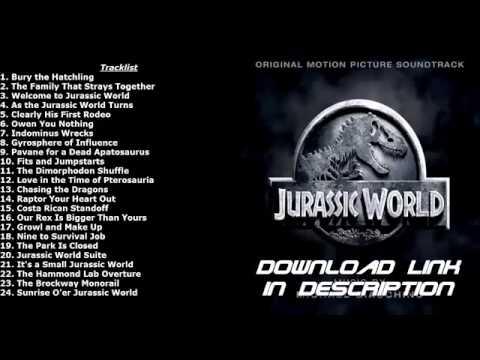 Jurassic World 2015 Movie Soundtrack (Full Album)