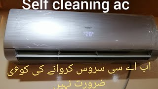 Self cleaning of haier DC inverter ac. How self cleaning works in DC inverter ac.