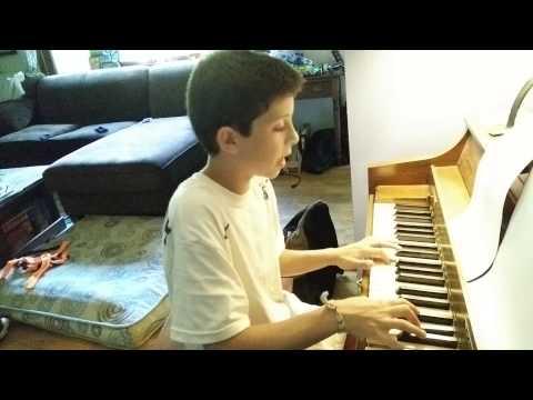 11 Year old Plays Viva La Vida  Coldplay Piano Cover