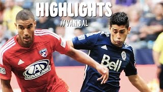 HIGHLIGHTS: Vancouver Whitecaps vs. FC Dallas | July 27, 2014