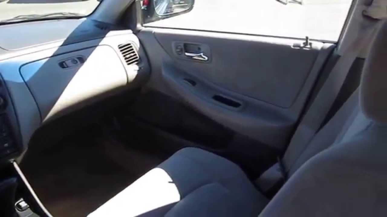 1999 Honda Accord Black Currant Pearl Stock 30933bl Interior