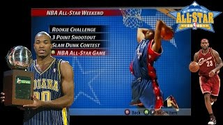THROWBACK GAMES NBA Live 2005 Dunk Contest | GREATEST DUNK CONTEST | HE CHOKED!!