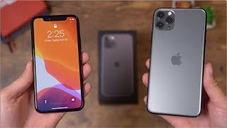 Apple iPhone 11 Pro and 11 Pro Max Unboxing!