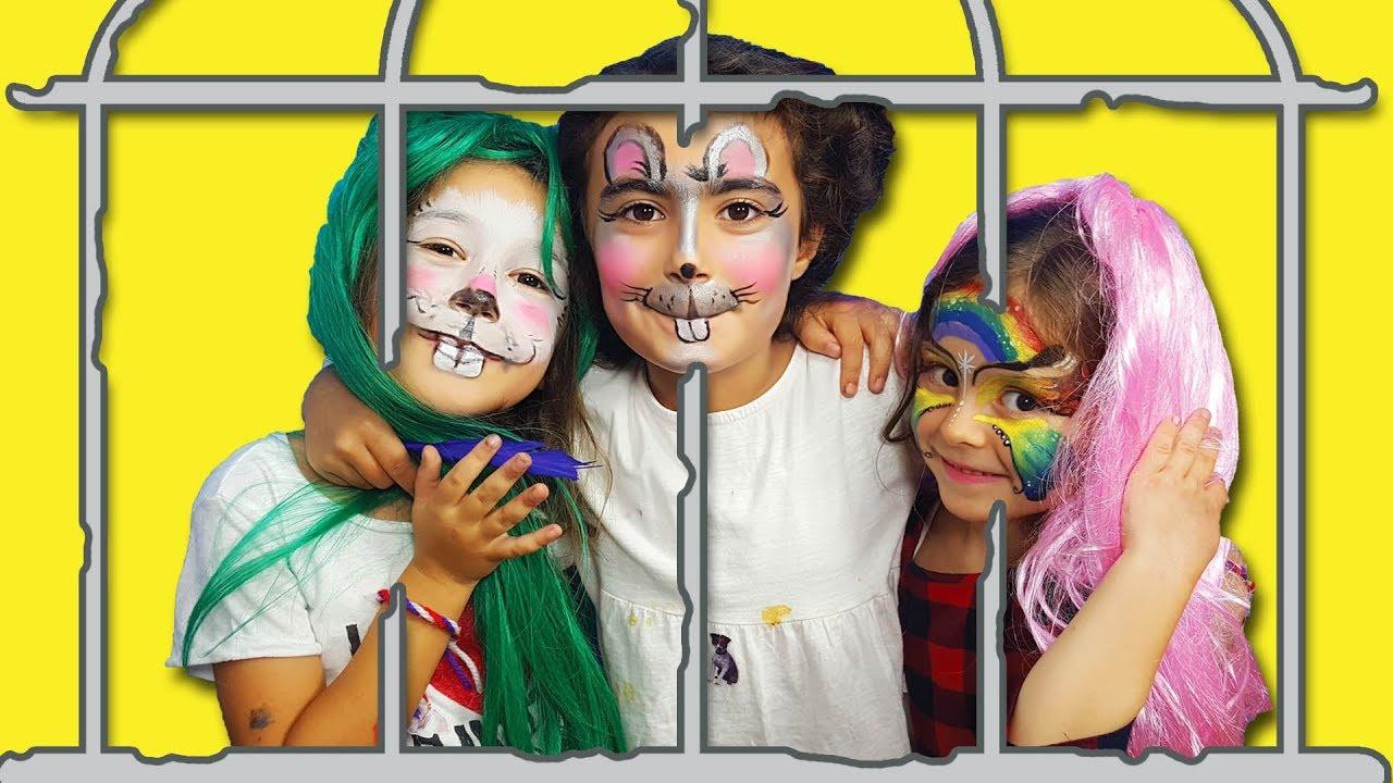 Mira Ve Arkadaşları Yüz Boyama Yaptı Eğlendi Umikids Kids Makeup