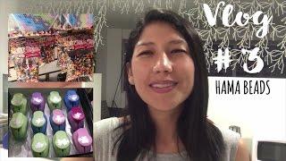 Vlog #3 : Galería el Dorado, tienda flores, dónde comprar hama beads, perforadores con formas