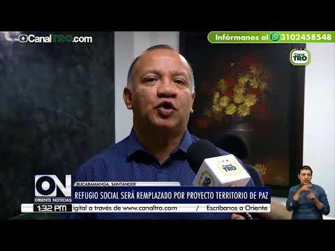 Refugio Social será remplazado por proyecto territorio de paz