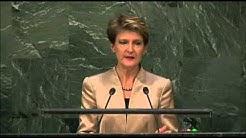 Suisse – Débat 2015 de l'Assemblée générale de l'ONU