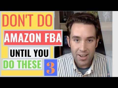 Do NOT Do Amazon FBA Unless You Do These Things! Amazon FBA Product Research 2019, Passive Income