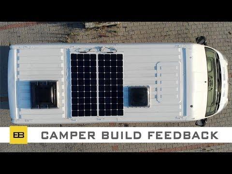 Custom Camper Van - Feedback After Use - 2
