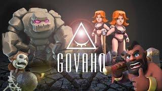 Clash Of Clans - tutorial ITA: GoVaHo Th8 [Valkyrie]