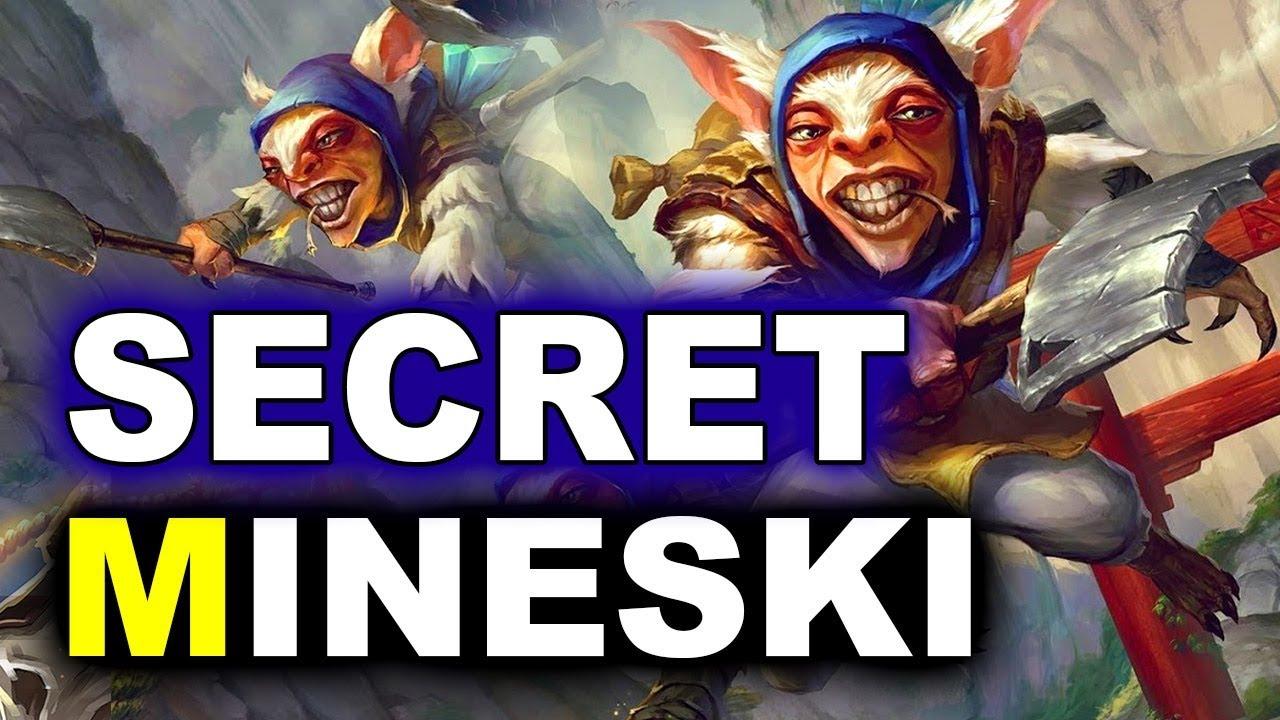 SECRET vs MINESKI - WILD MEEPO APPEARS! - MDL MAJOR DOTA 2