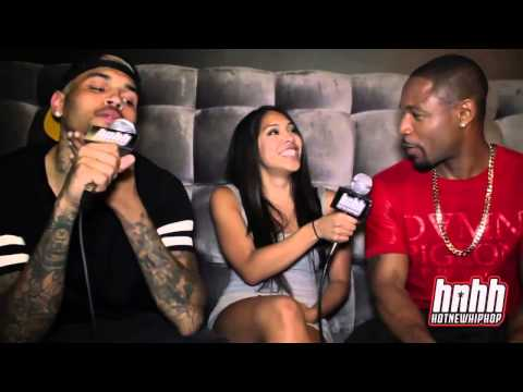 Chris Brown Interviews Tank and Gets freaky