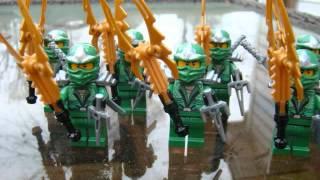 Lego Ninjago Custom Green Ninja miniFigure Giveaway!