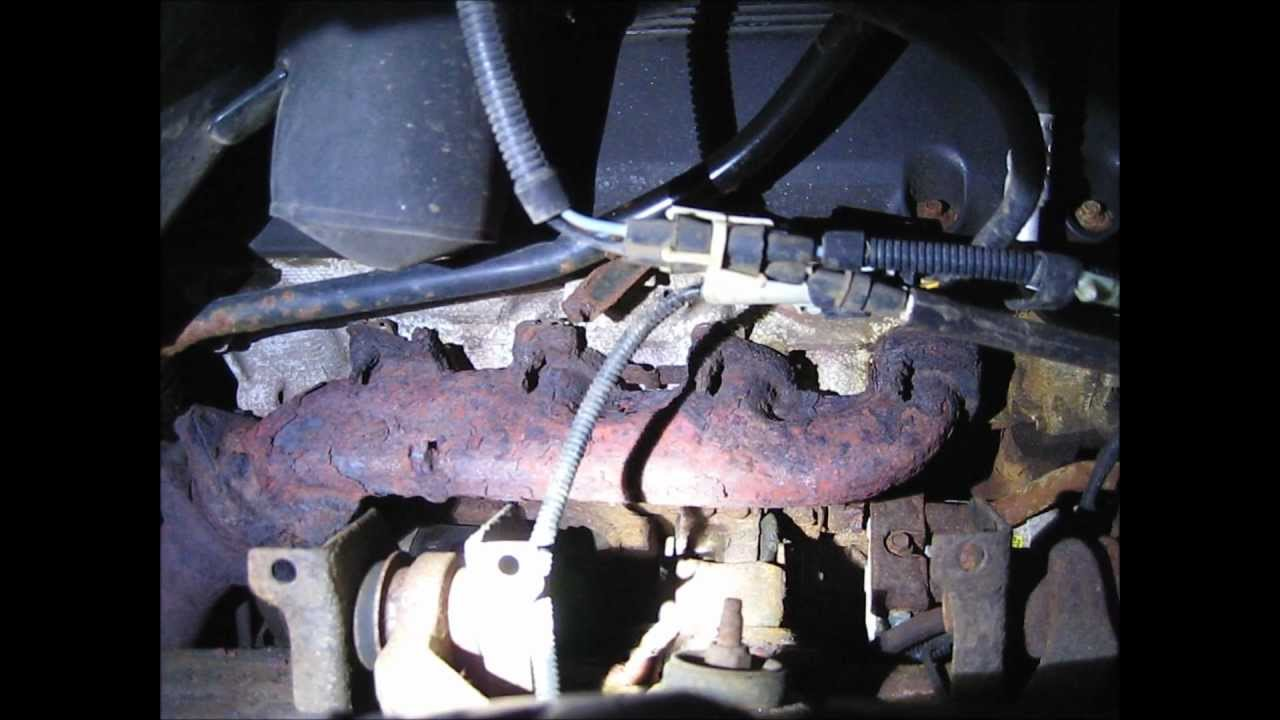 small resolution of ford f150 exhaust manifold removal part 1 youtube2000 f150 exhaust system diagram 16