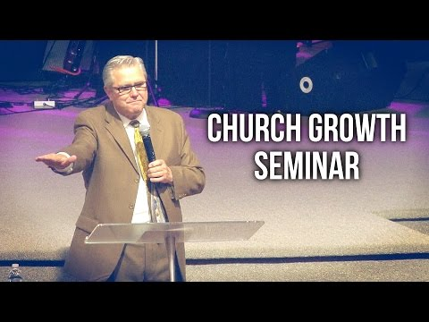 Church Growth Seminar with Wayne Huntley