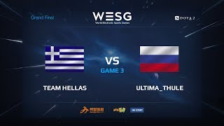 Team Hellas против Ultima_Thule, Третья карта, WESG 2017 Grand Final