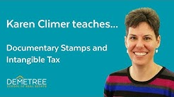 Florida Real Estate Exam Sample Question (2019) - Documentary Stamps and Intangible Tax