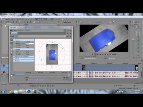 How to Rotate Videos in Sony Vegas Pro