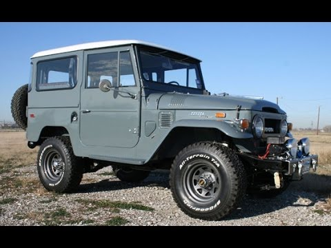 1970 Toyota Fj40 Land Cruiser Youtube