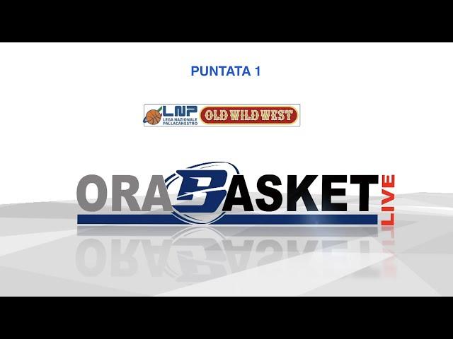 ORA BASKET LIVE puntata 1 - Gruppo Mascio Treviglio