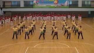 102年台北市運動嘉年華新北市排舞協會表演公舞---印度