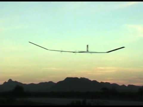 QinetiQ Zephyr solar powered plane