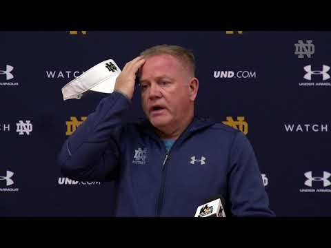 @NDFootball Brian Kelly Press Conference -  Citrus Bowl Prep (2017)