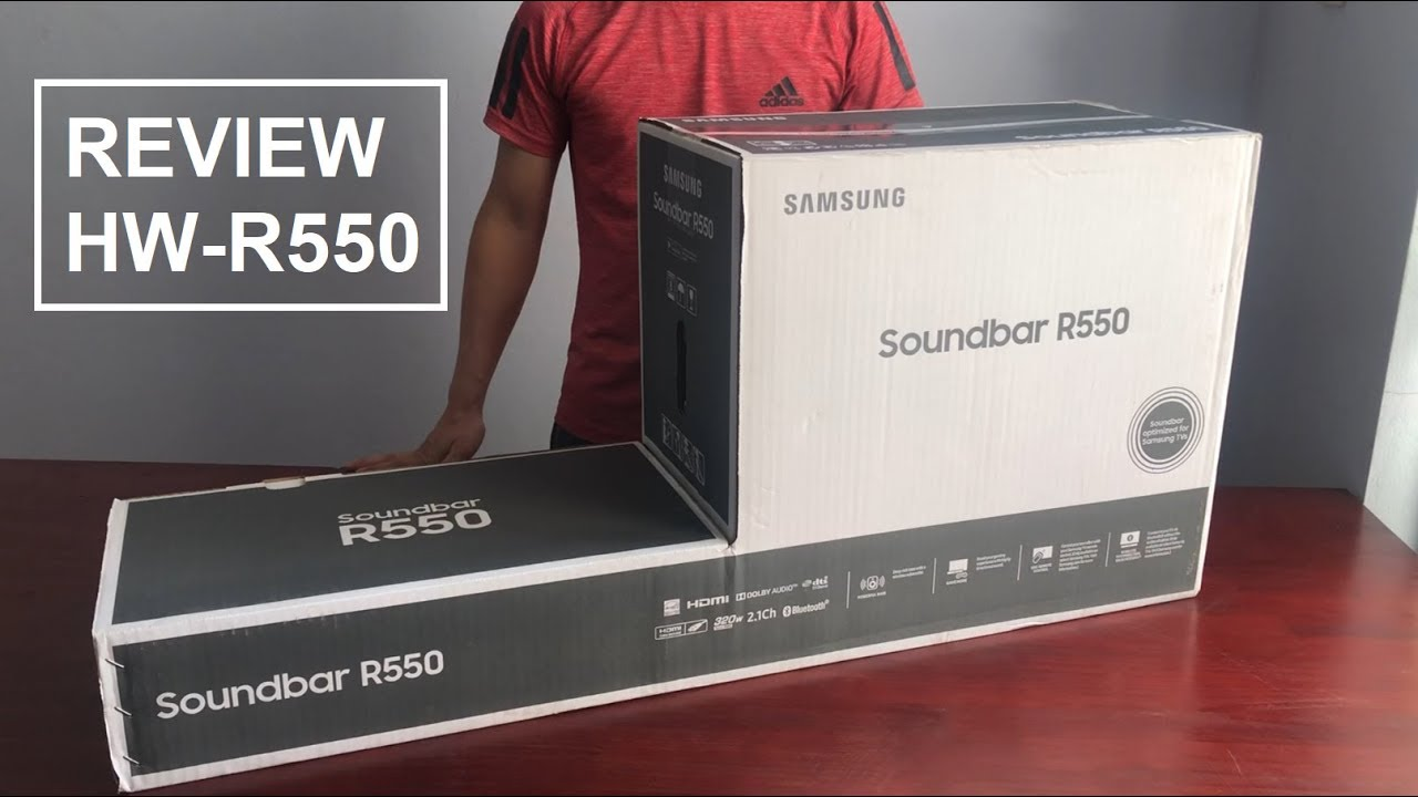 Loa Samsung HW-R550, Review Loa Thanh Samsung HW-R550 - 0977254396