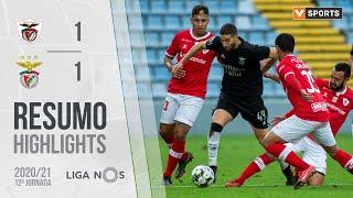 Highlights   Resumo: Santa Clara 1-1 Benfica (Liga 20/21 #12)