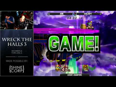 Jank (Dedede) vs Chaloopy (Falcon) - Wreck the Halls 3 PM Loser's Quarters