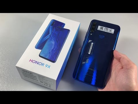 Обзор Honor 9X (STK-LX1)