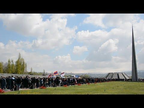 Тысячи жителей Армении почтили память жертв геноцида армян