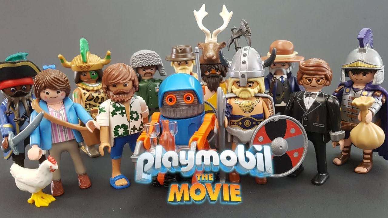 Playmobil THE MOVIE Figures Serie//Series 1 70069 DEL