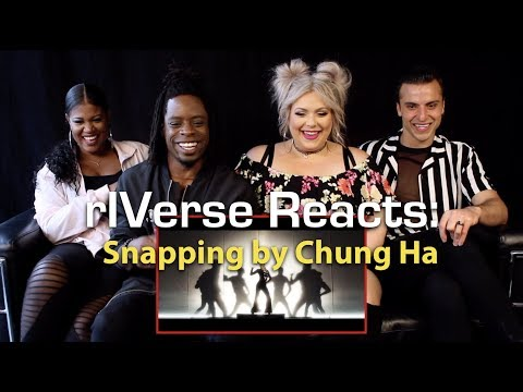 RIVerse Reacts: Snapping By Chung Ha - M/V Reaction