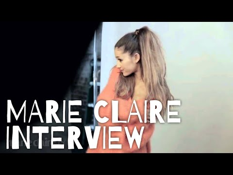 Ariana Grande ❤ Maire Claire's Photoshoot {interview}