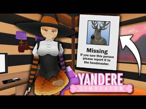 The secret behind the missing student! | Yandere Simulator Witch Mod (part 2)